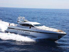 Luxury yacht 'Orion I' joins Mediterranean charter fleet