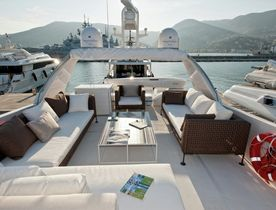 Motor Yacht Fortuna Joins Charter Fleet