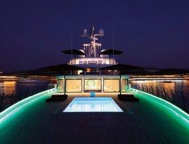 Charter Superyacht AIR in the Mediterranean this Summer