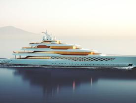 Feadship unveils legendary rock star enthused 109m superyacht concept 'Project FG'