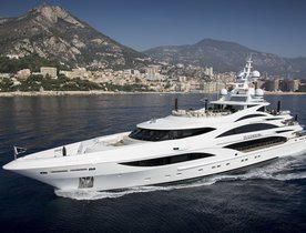 Superyacht 'Illusion V' offers Bahamas charter deal for Hero World Challenge Golf Tournament