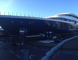 Largest Ever Feadship Superyacht (Hull 808) Launched