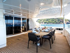 Motor Yacht ROBUSTO Reduces Weekly Charter Rate for 2016