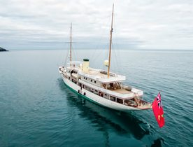 Classic Yacht 'Haida 1929' returns to global charter fleet