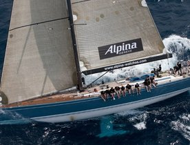 S/Y ALPINA Offering Free Gift with Charters
