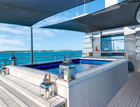 Superyacht MIZU offers special charter rate following refit