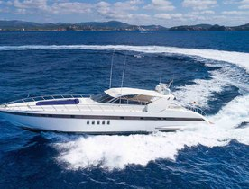 Motor yacht 'Minu Luisa' offers 20% discount on Mediterranean charter deal