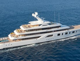 Feadship's 92m superyacht AQUARIUS joins the global charter fleet