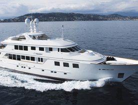 Superyacht MIM New to Charter Fleet