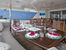 Westport Motor Yacht KEMOSABE Takes Bookings for Caribbean Charters