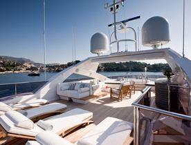 Mediterranean charter deal: Save 15% on superyacht THUMPER