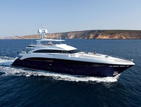 Princess Yachts 40m 'Solaris' New to Charter