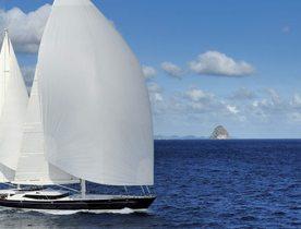 Sailing Charter Yacht DRUMBEAT Continues Circumnavigation