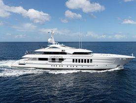 New Heesen superyacht LAURENTIA joins charter market