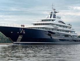 Ex-charterer takes delivery of 111m Lurssen superyacht TIS