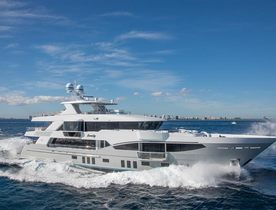 New Motor Yacht SERENITY Joins the Global Charter Fleet