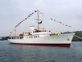 Classic Yacht MALAHNE has Free Charter Gap in Turkey