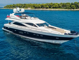 Sunseeker superyacht 'Excelerate Z' enters the charter market
