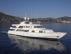Save €15,000 On Board Motor Yacht KANALOA in the Mediterranean