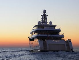 Superyacht 'Grace E' Available for Winter Charters in the Caribbean