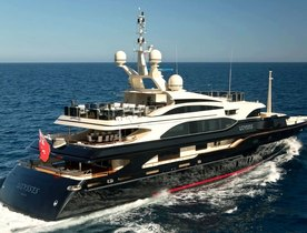 Superyacht ULYSSES Reduces Rate in the Mediterranean