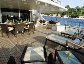 Superyacht 'Mamma Mia' Announces Availability in Mexico