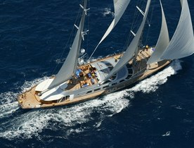 Sailing Yacht 'Andromeda la Dea' Offering Luxury Charters in Antigua