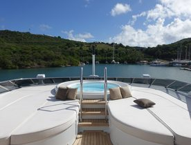 Motor yacht 'Lady L' Joins Charter Market at the Antigua Charter Yacht Show
