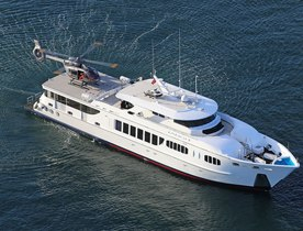 The Largest Superyacht for Charter in Sydney Just Got Bigger – Motor Yacht TANGO
