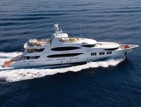 Superyacht 'Amarula Sun' Offers Charter Deal in the Bahamas