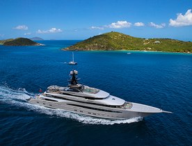 Superyacht KISMET Making her Show Debut at the 2015 Fort Lauderdale International Boat Show