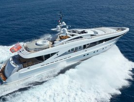 Motor Yacht DESTINY Joins Mediterranean Charter Fleet