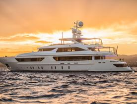 Charter Luxury Yacht SCORPION for Less in Ibiza This September