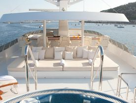 Special offer on Italy yacht charters with superyacht 'Azzurra II'