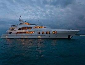 M/Y LA DEA II New to Charter Fleet