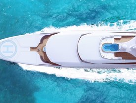 Turquoise Yachts launches brand new 77m superyacht GO