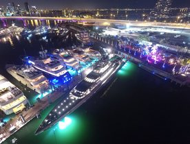 Miami's New Superyacht Marina Opens Outdoor Lounge