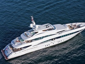 Luxury yacht INCEPTION opens for charter in central America and the Caribbean