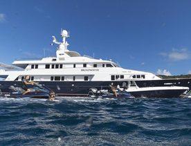 Feadship Charter Yacht BROADWATER Renamed Superyacht 'BLU 470'