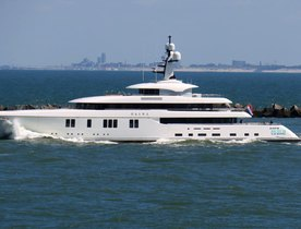 Video: New Feadship Superyacht HASNA Undergoing Sea Trials