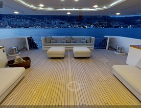Virtual Tour of Riviera TV Series Yacht - Superyacht TURQUOISE