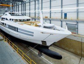 Heesen launches superyacht 55m 'Project Castor'
