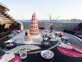 Charter Yacht 'Maltese Falcon' Wins Prestigious Table Setting Competition