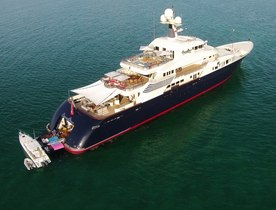 Superyacht 'Cocoa Bean' Joins Global Charter Fleet in the Mediterranean
