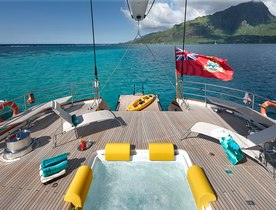 Sailing Yacht 'Mondango 3' Offers Special Charter Rate from Tahiti to Antigua