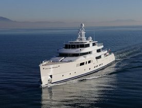 Motor Yacht GRACE E Completes Sea Trials
