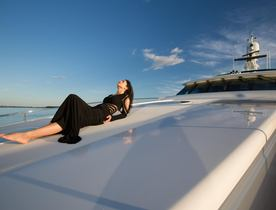 Superyacht USHER Open For Charter In The Caribbean This Summer