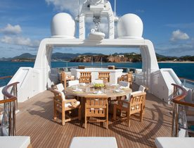 Superyacht SUNRISE Takes Charter Bookings in the Maldives and Thailand