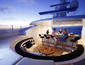 Superyacht SOVEREIGN Joins Global Charter Fleet in the Caribbean