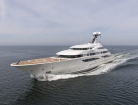 Lurssen Superyacht ARETI To Make World Debut At Monaco Yacht Show 2017